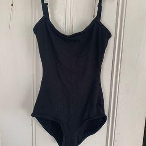 Small women's black bodysuit. NWOT